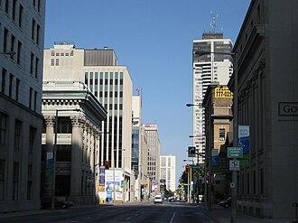 Main Street (Hamilton, Ontario) - Main Street, looking East