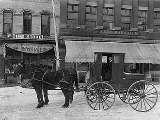 Dodge Center, Minnesota - Dodge Center, 1800s