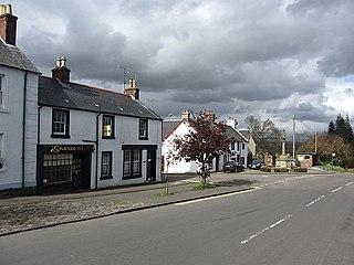 Kippen village in Stirling, Scotland, UK