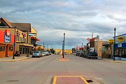 Main Street Watford City