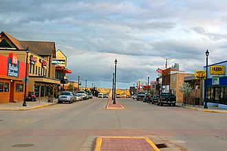 Watford City, North Dakota - Main Street Watford City