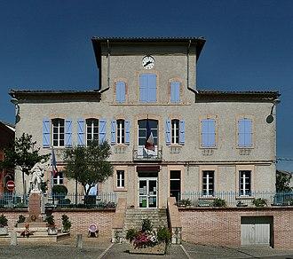 Molières, Tarn-et-Garonne - The town hall of Molières