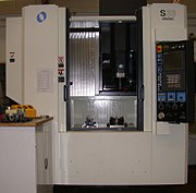 Makino machining center