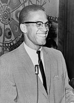 Malcolm X in March, 1964