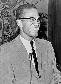 1964 yılında Malcolm X