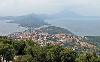 Mali Lošinj - View of the town