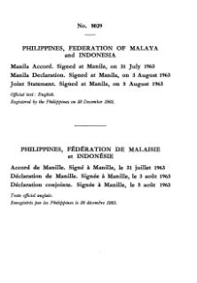 Manila Accord