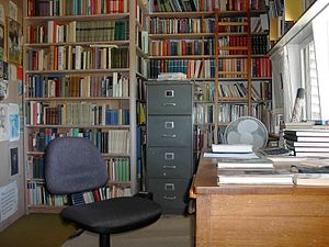 Manning Clark - Manning Clark's desk in his Canberra home, where he wrote the six volumes of A History of Australia