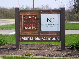 Ohio State University, Mansfield Campus - The Mansfield Campus welcome sign