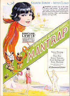 <i>Mantrap</i> (1926 film) 1926 film by Victor Fleming