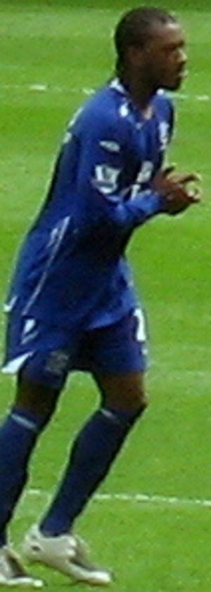 Manuel Fernandes (footballer, born 1986) - Fernandes with Everton in 2008