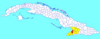 Manzanillo, Cuba - Image: Manzanillo (Cuban municipal map)