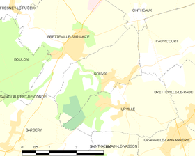Map commune FR insee code 14309.png
