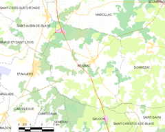 Map commune FR insee code 33351.png