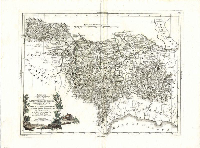 File:Map italy monferrato CG 39 PARTE DEL PIEMONTE IL DISTRETTO DI TORINO LA LUMELLINA IL PAVESE.jpg