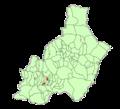 Map of Bentarique (Almería).png