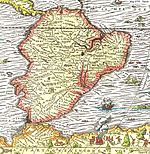Map of South america 1575.jpg
