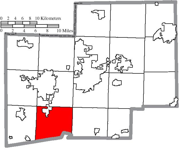 Location of Bethlehem Township in Stark County