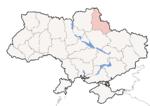 Oblast di Sumy - Mappa di localizzazione