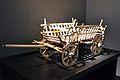 Maqueta de carro amb baranes, Museu Històric del Palatinat, (Exposició El Tresor dels Bàrbars).JPG