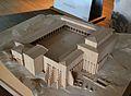 Maqueta que restitueix el fòrum municipal de Saguntum, Museu Històric de Sagunt.JPG