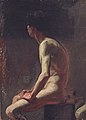 Marià Fortuny - Autoretrat. Nu de l'autor (Museu d'Art Jaume Morera).jpg