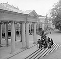 Mariánské Lázne 1958, Kolonnád. Fortepan 7726.jpg
