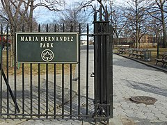 Maria Hernandez Park entrance.jpg