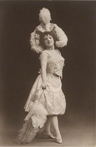 Music Hall Strike of 1907 - Marie Lloyd