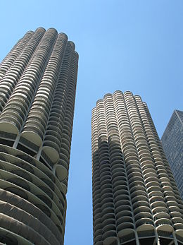 As Viewed From Boat In Chicago River