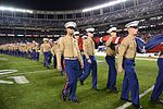 Marines stand together to unfurl Old Glory at 38th annual Holiday Bowl 151230-M-HF454-007.jpg
