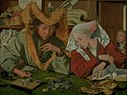 Marinus van Reymerswale - The Merchant and his Wife - KMSsp334 - Statens Museum for Kunst.jpg