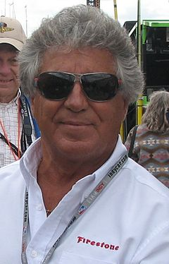 Mario Andretti 2009 Indy 500 Pole Day.JPG