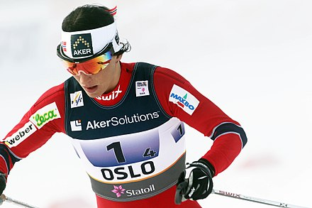 Skier Marit Bjorgen from Norway is the most successful Winter Olympian of all time, with 15 medals Marit Bjorgen Holmenkollen 2011 001.jpg