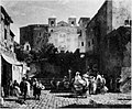 Market Day in an Italian Town by Oswald Achenbach Rijksdienst voor het Cultureel Erfgoed B517.jpg