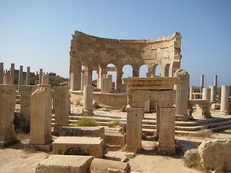 File:Market Leptis Magna.JPG