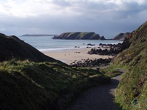 Marloes Sands - Marloes Sands beach