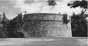 Martello tower - Prince of Wales Tower – oldest Martello tower in North America (1796), Point Pleasant Park, Halifax, Nova Scotia, Canada