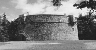 Martello tower small defensive fort