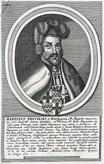 Martin Truchseß von Wetzhausen Grand Master of the Teutonic Knights