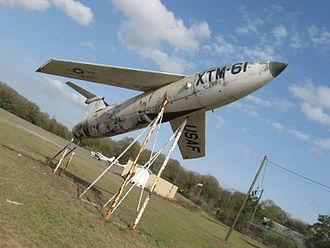 "MGM-1 Matador - ""XTM-61"" on static display at Hawkinsville-Pulaski County Airport in Hawkinsville, Georgia"