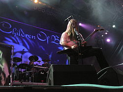 I Children of Bodom in concerto al Monsters of Rock
