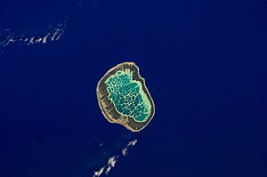 Mataiva - NASA picture of Mataiva Atoll