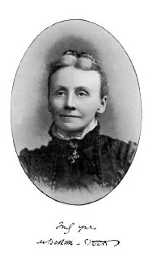 Matilda Betham-Edwards - Matilda Betham-Edwards ca. 1893