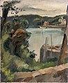 Maurice Asselin, 1924 - Berges de Lac.jpg