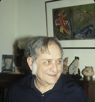 Maurice Sanford Fox - Maury Fox in his home in 1988