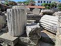 Mausoleo di alicarnasso, prime tombe 03.JPG