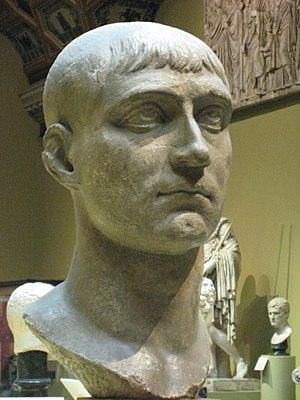 Maxentius - Bust of Maxentius