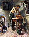Maximilien Luce-Man Washing.jpg