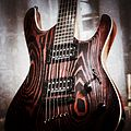 Mayones Setius GTM 6 Gothic Monolith Black With Red Ash Finish - body angled right (by Christian Mesiano).jpg